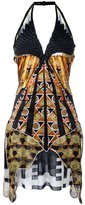 Givenchy mix print dress - women - Silk/Polyester/Viscose - 38