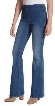 Jessica Simpson Pull-On Flared-Leg Jeans