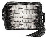 Botkier Quincy Crocodile-Embossed Braided Mini Cross-Body Bag