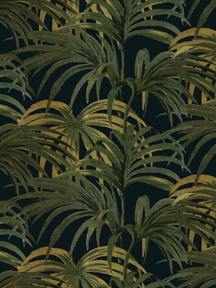 House of Hackney Midnight Palmeral Wallpaper