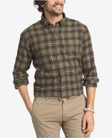 G.H. Bass & Co. Men's Plaid Flannel Long-Sleeve Shirt