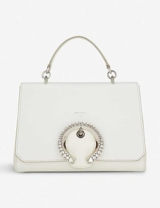 Jimmy Choo Madeline leather top-handle bag