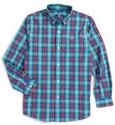 Vineyard Vines Boy's Northern Shore Plaid Woven Shirt