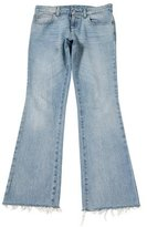 Gucci Flared Mid-Rise Jeans