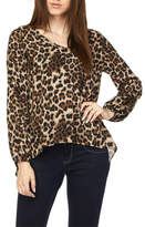 2NE1 Apparel Leopard Print Top