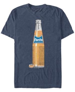 Coca Cola Coca-Cola Men's Classic Fanta Bottle Short Sleeve T-Shirt