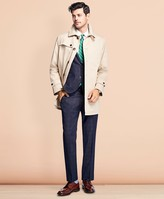 Brooks Brothers Water-Resistant Single-Breasted Trench Coat