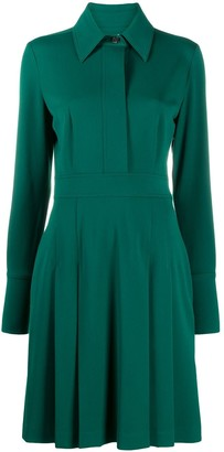 Victoria Victoria Beckham Crepe Shirt Dress