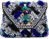 Antik Batik Kilan Wallet in Blue.