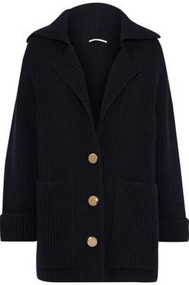 Stella McCartney Ribbed Wool Cardigan