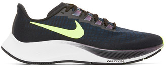 Nike Green and Blue Air Zoom Pegasus 37 Sneakers