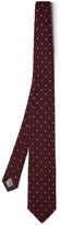 Dunhill Polka-dot embroidered silk tie