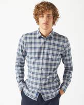 Italian Flannel Check Shirt
