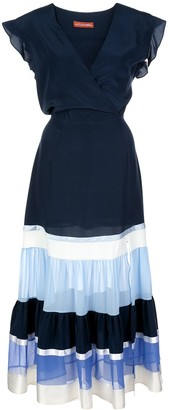 Altuzarra Judy panelled belted dress