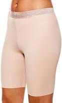 Body Beautiful Women's Underwear Nude - Nude Floral Waistband Shaper Shorts - Women & Plus