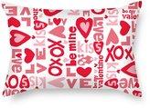 NICEPLW Pillow Covers(each Side) Nice Choice For Home Kids Girls Christmas Birthday Living Room Love