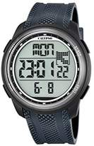 Calypso Unisex Digital Watch with LCD Dial Digital Display and Blue Plastic Strap K5704/6