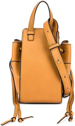 Loewe Hammock DW Mini Bag in Light Caramel | FWRD