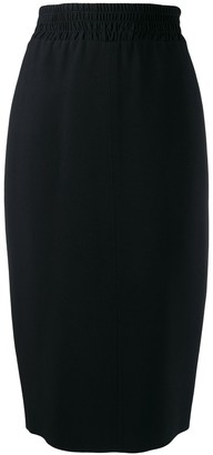 No.21 knitted side stripe skirt