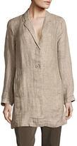 Eileen Fisher Linen Unstructured Blazer