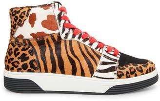 Steve Madden Freethrowl Leopard Multi