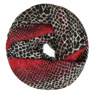 Glamexx24 Leo pattern XXL tube scarf round loop scarf women leopard scarf girl animal print