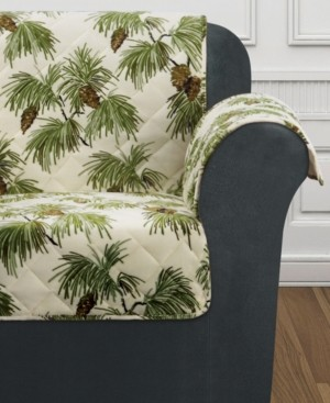 Sure Fit Closeout! Holiday Motifs Quilted Chair Slipcover