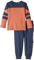 Splendid Littles Slub Jersey Top and Pants Set Boy's Active Sets