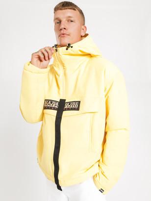 Napapijri Skidoo Creater Popover Hooded Jacket in Yellow Sunshine