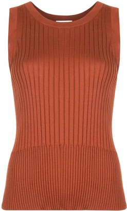 Sir. Astrid ribbed tank top