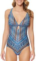 Jessica Simpson Dusty Roads One Piece Swimsuit