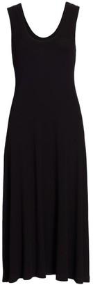 Rosetta Getty Jersey Midi Dress
