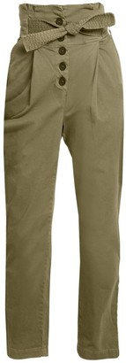 A.L.C. Krew High-Waisted Tie-Waist Pants