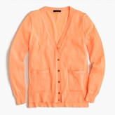 J.Crew Summerweight cardigan sweater in neon