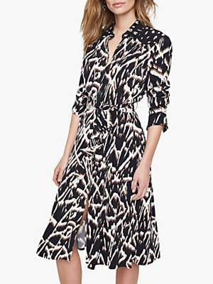 Damsel in a Dress Theodora Animal Print Shirt Dress, Leopard