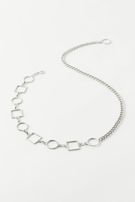Urban Outfitters Multi-Shape Chain Belt