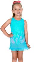 Hula Star Aqua Mermaid Mesh Cover-Up - Toddler