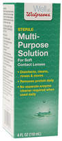 Walgreens Multi-Purpose Contact Lens Solution