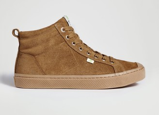 Cariuma OCA High All Camel Suede Sneaker Women