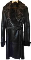 Loewe Black Fur Coats