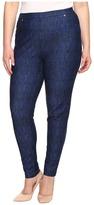 MICHAEL Michael Kors Size Denim Pull-On Leggings in Blue Indigo