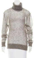 Michael Kors Rib Knit Turtleneck Sweater