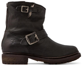 Valerie 6 Motorcycle Lamb Shearling Lined Boot