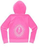 Juicy Couture Girls Logo Velour Starburst Cameo Robertson Jacket