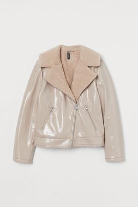 H&M Lined biker jacket