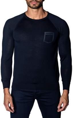 Jared Lang Lightweight Knit Pocket Sweater