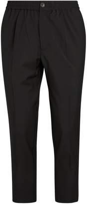 Ami Paris Drawstring Tailored Trousers