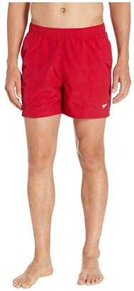 Speedo Guard Volley 16'' Red) Men's Swimwear