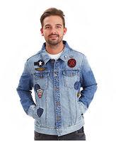Joe Browns Men's Denim Badge Jacket