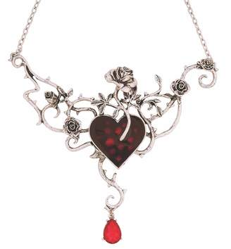 Rubie's Costume Co Women's Wicked Gems Bed-of-Blood Rose Necklace